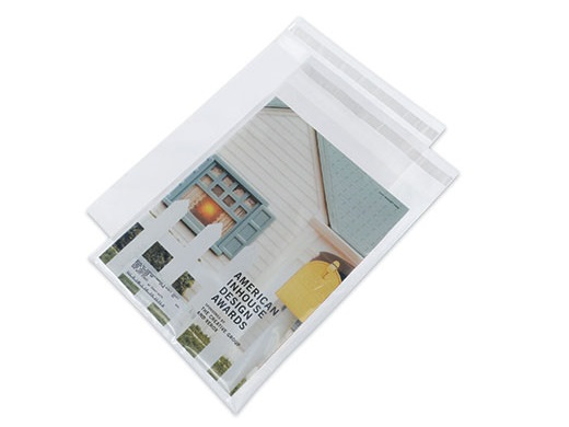 Postal Approved Self-Sealing Clear Envelopes