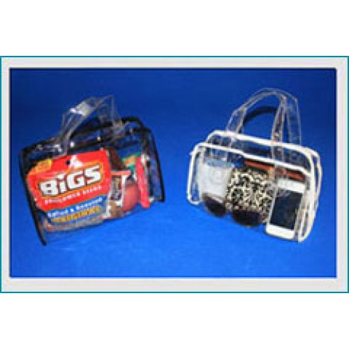 Security Purse Style Vinyl Bag