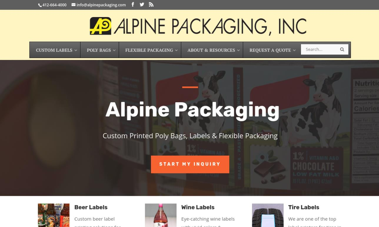Alpine Packaging, Inc.