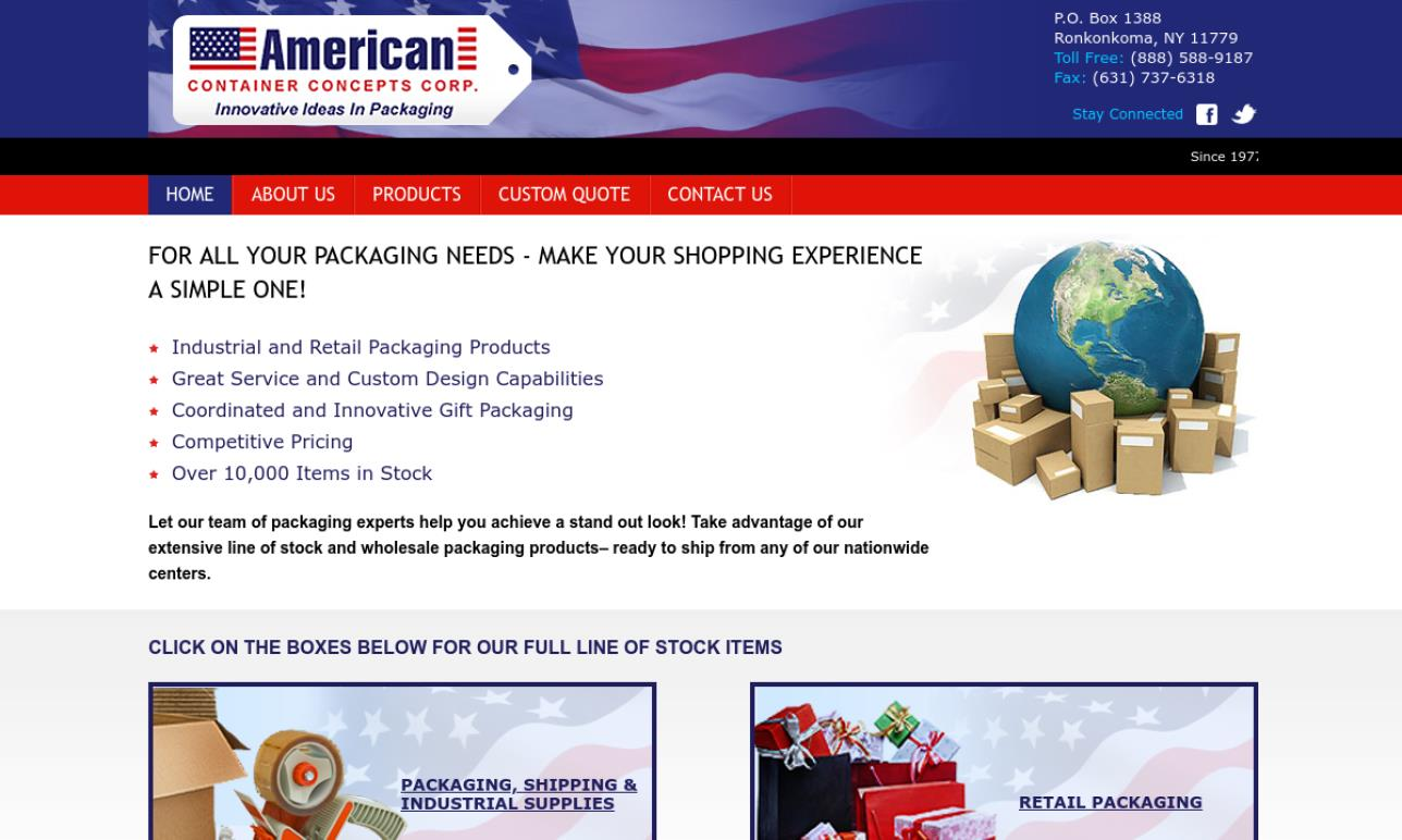 American Container Concepts Corporation