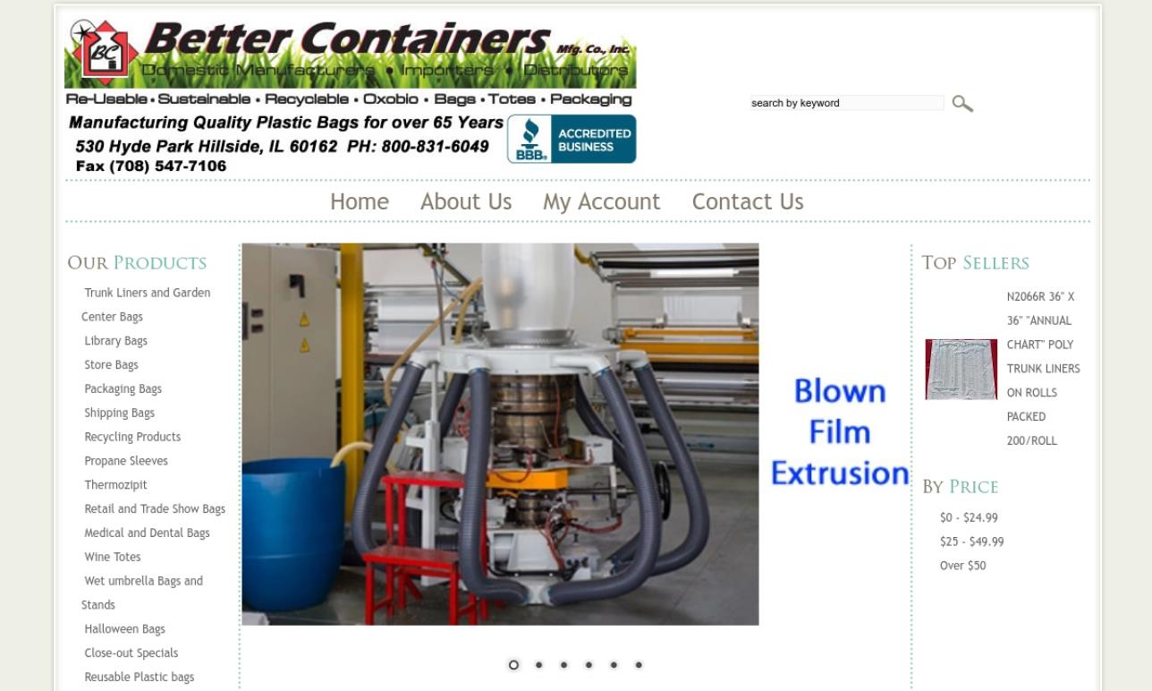 Better Containers Mfg Co., Inc.