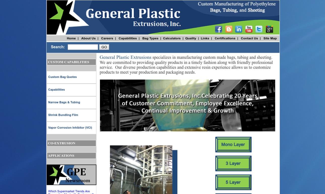 General Plastic Extrusions, Inc.
