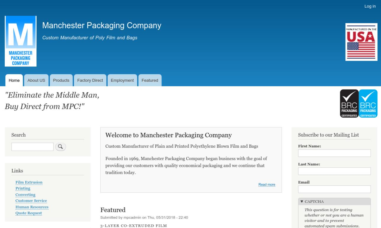Manchester Packaging Company