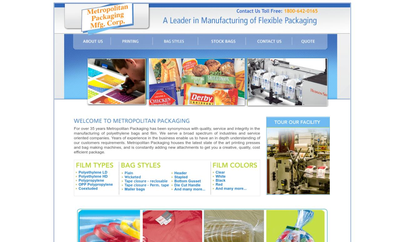 Metropolitan Packaging Mfg. Corp.