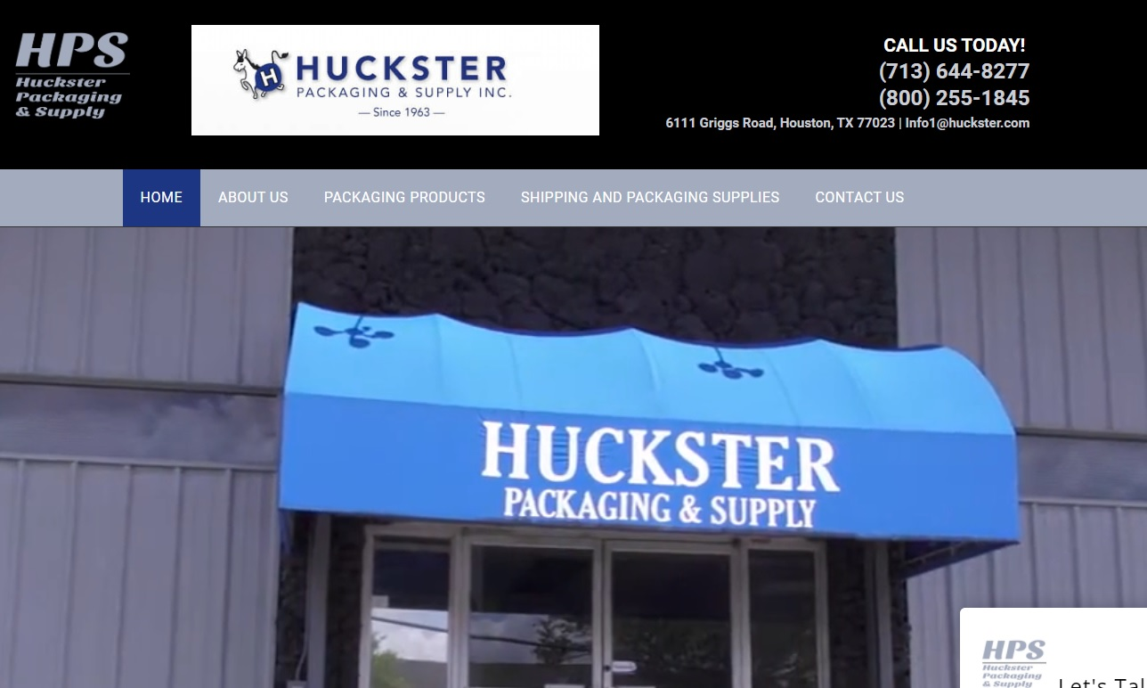 Huckster Packaging & Supply Inc.